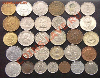 51 монета, все разные (см. фото и описание). До 02.12_22.08м - 7010