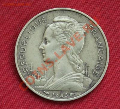 ФРАНЦУЗСКИЙ РЕЮНЬОН 20 франков 1955г.    до 8.12.13г.в 22-00 - IMG_9687.JPG