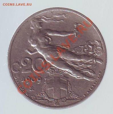 Италия.20 Чентезими.1909. до 08.12 - 19090010.JPG