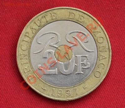 МОНАКО 20 франков 1997г. ТРИМЕТАЛЛ  до 8.12.13г.в 22-00 - IMG_9685.JPG