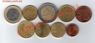 === ЕВРО-монеты - 3,76 евро - Курс ЦБ - до 08.12.2013 - А-Ход-1