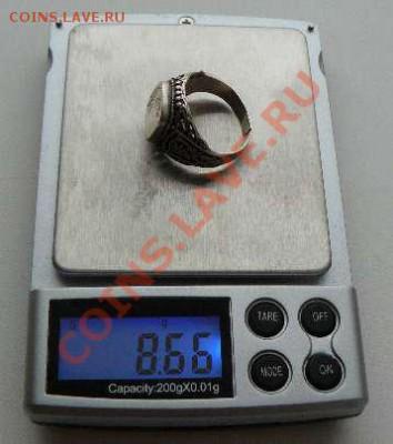 Серебрянный перстень с рисунком, до 05.12.2013 22-00 Мск - Перстень с рисунком.вес