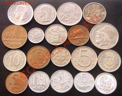 35 разных монет (см. фото и описание). До 03.12_22.00мск - 6865