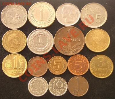 35 разных монет (см. фото и описание). До 03.12_22.00мск - 6867