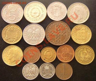 35 разных монет (см. фото и описание). До 03.12_22.00мск - 6868