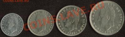Испния '82 - подборка из 4 монет до 22:00мск 09.12.13 - '82 (2)