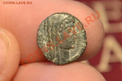 Рим.Константин Великий 306 — 337 (посмертный чекан) - CSC_0192.JPG