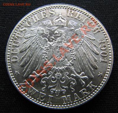 Германия 2 марки 1901 200 лет королевству до 06-12-13. - IMG_1235