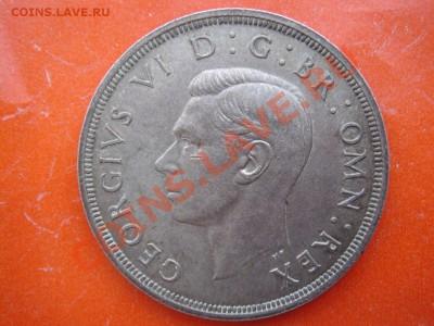Великобритания: Ag-500 крона 1937 Георг 6 до 09.12 22-0 - Крона 1937-т-2.JPG