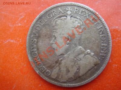 Канада: Ag-925 25 центов 1919 Георг 5 до 09.12.13, 22-00 - Канада 25 центов 1919-2.JPG
