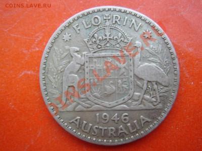 Австралия: Ag-500 флорин 1946 Георг 6 до 09.12.13, 22-00 - Австралия флорин 1946-1.JPG
