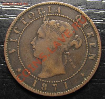Z04 Канада 1¢ Остров Принца Эдуарда 1871 09.12 в 22°° - Z04 PEI 1871_1