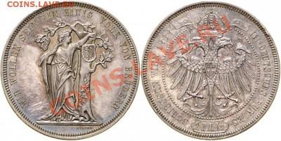 Австрия, талер 1868 года - 969477l