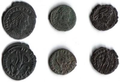Древне римские или греческие монеты ??? - 1