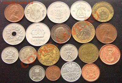 40 разных монет (см. фото и описание). До 08.12_22.22мск - 7050