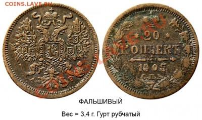 Фальшивые монеты России до 1917г сделанные в ущерб обращению - 21