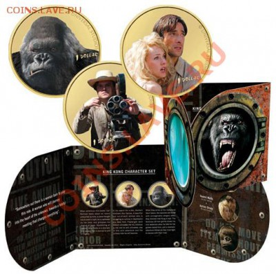 КИНЕМАТОГРАФ на монетах и жетонах - King Kong - 1.JPG