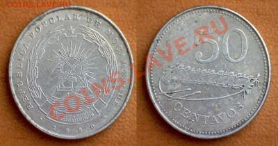Изображение автомата Калашникова на бонах, монетах, жетонах - 50 сентаво 1
