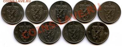 Норвегия 5,10 эре 1980. - img386-50