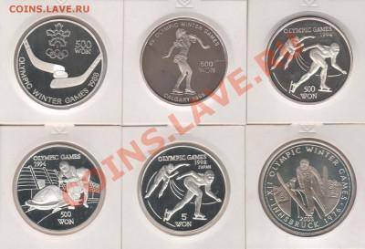 Все монеты Сочи 2014 в мире - Рисунок (2)Сев.Корея