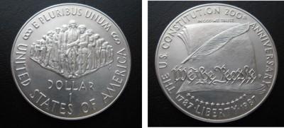 1 доллар 1987 - 1doll87
