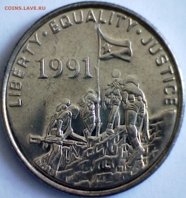 Изображение автомата Калашникова на бонах, монетах, жетонах - РПК