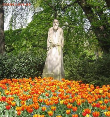Христианство на монетах и жетонах - Памятник Приможу Трубару.JPG