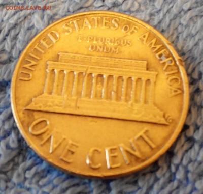 цент США с надчеканом Кеннеди - 2014613163312