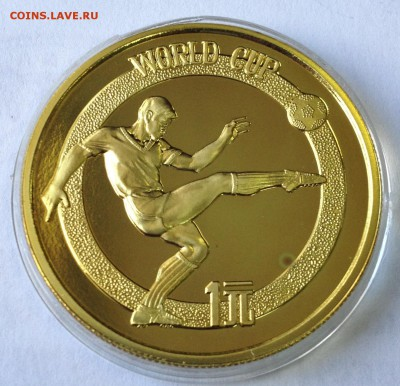 ФУТБОЛ на монетах МИРА - Изображение 001
