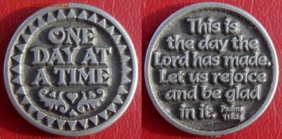 Христианство на монетах и жетонах - Один прекрасный день