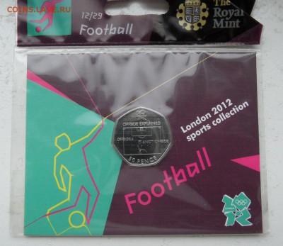 Олимпийские игры. - Великобритания Лондон 2012 50 пенсов.JPG