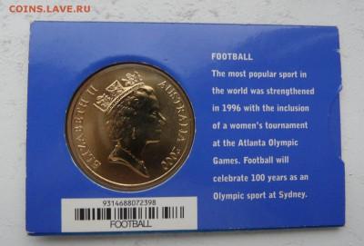 Олимпийские игры. - Австралия Сидней 2000 5 долларов 2.JPG