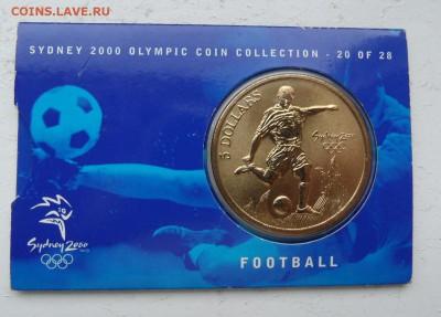 Олимпийские игры. - Австралия Сидней 2000 5 долларов.JPG
