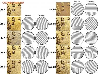 1 коп. 1991 М без солнечного диска в гербе - 50k_2005m_a-b1-b2-b3-b4-b5-v1-v2-v3-v4_shlifovka_fs