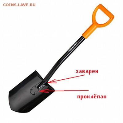 Как выбрать лопату для копа? - хороший фискарь