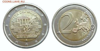Биметаллические монеты Мира_новинки - Ватикан_2 евро_2014_Берлинская стена_Форум