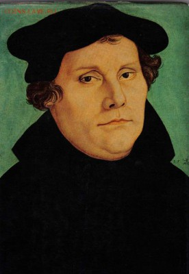 Христианство на монетах и жетонах - Мартин Лютер