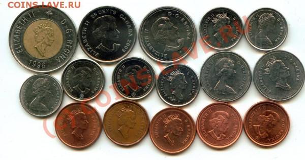 L30 Набор монет Канады 16 шт. до 03.05 в 22.00 - L30 Canada -2