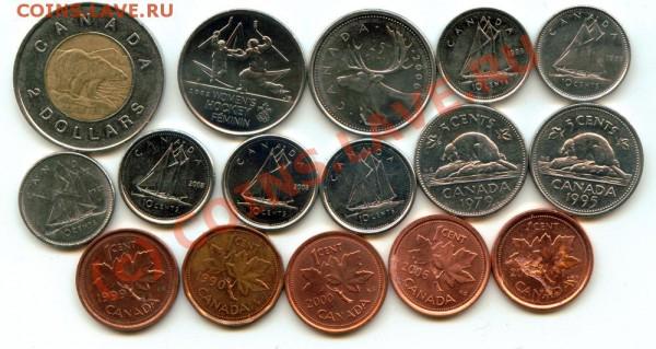 L30 Набор монет Канады 16 шт. до 03.05 в 22.00 - L30 Canada -1