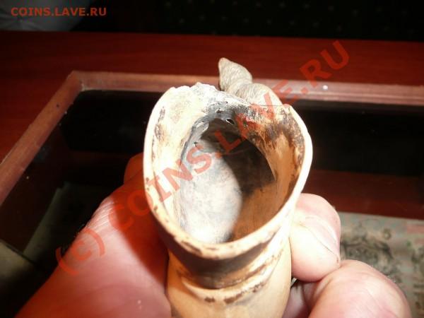 Великолепный башмак с кошкой-пепельница,Старинный - P1020467.JPG