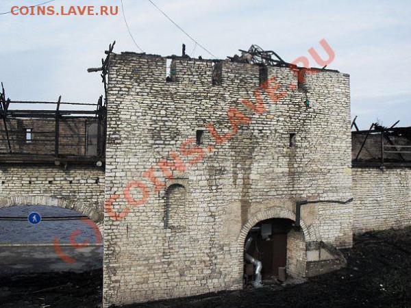 Пожар в Псковском Кремле... - Власьевская