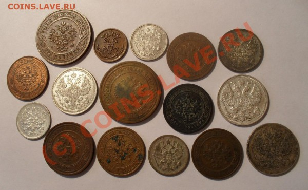 Лот из 16 монет, серебро и медь(от A-I до Н-II).До 4.05.10г. - Изображение 5508