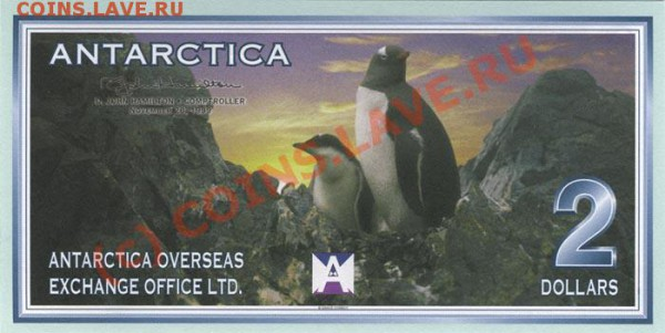 Животные на банкнотах - 2-99a