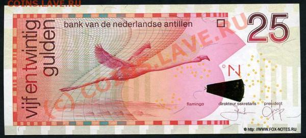 Животные на банкнотах - n_antillen_2003_25_p29c_f