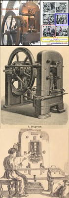 Схема коленно-рычажного механизма чеканочного пресса. - Схема  чеканочного пресса.4.JPG