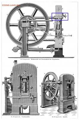 Схема коленно-рычажного механизма чеканочного пресса. - Схема  чеканочного пресса.5