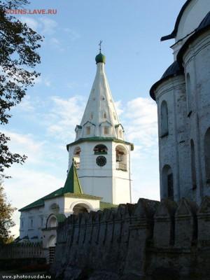 Христианство на монетах и жетонах - Кремлевская колокольня_Суздаль