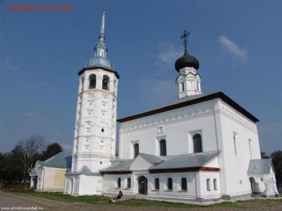 Христианство на монетах и жетонах - Воскресенская церковь с колокольней_Суздаль