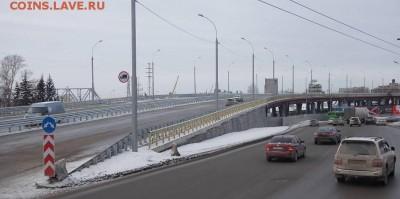 Новосибирск - третий город РФ - южная площадь