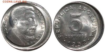Бракованные монеты - 5c_1952_desctrd_sc